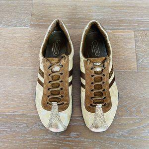 Coach Kate Sneaker   Brown   9M